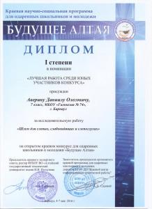 аверин диплом